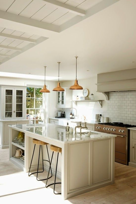 A lovely ambience [kitchen]