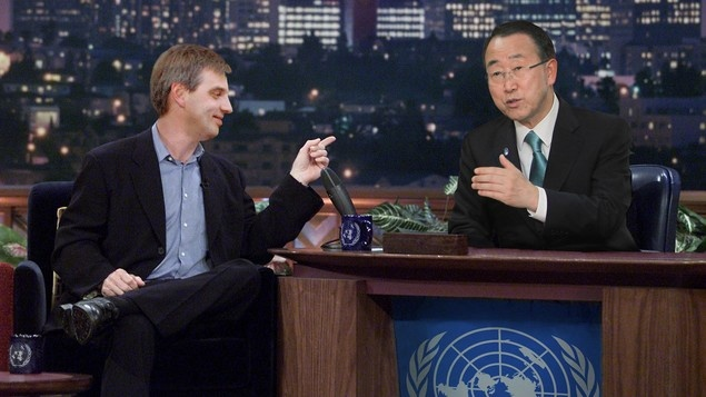 Latvian Diplomat Tells Amusing Human Development Index Anecdote On 'U.N. Tonight! With Ban Ki-Moon' | The Onion - America's Finest News Source