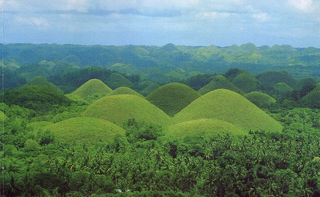 Chocolate Hills Bohol Philippines Choose Philippines