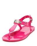 Michael kors pink sandals
