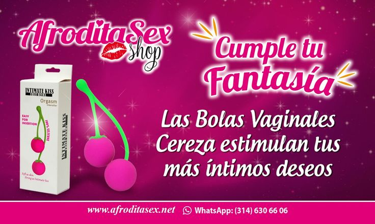 Bolas Vaginales Cereza Ref: j27 $40.000 http://afroditasex.net/index.html http://afroditasexshop.com Whatsapp 314 630 66 06
