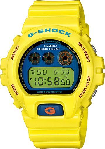 yellow g shock