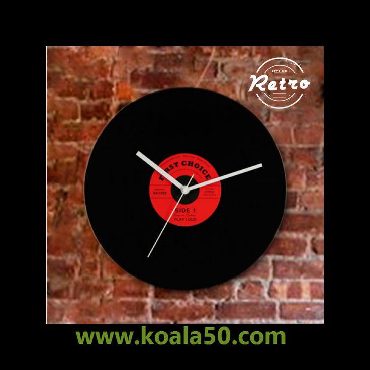 Reloj de Pared Retro Disco - 4,90 €   Para los amantes del vinilo, nada mejor que el reloj de pared retroDisco! Disponible en varios diseños aleatorios según disponibilidad de stock. Diametro del reloj aprox.: 30 cm. Dispone de...  http://www.koala50.com/informatica-electronica/reloj-de-pared-retro-disco-