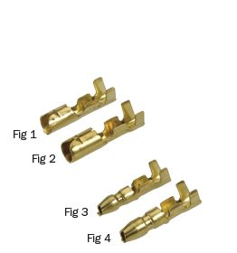 Non-Insulated Bullet Terminals