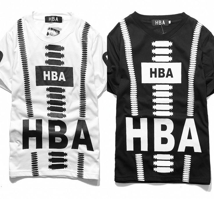 New 2015 Tide Brand Hba Been Trill in Europe and America Hba Tee Shirts Prints…