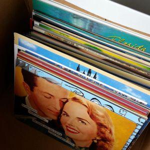 Säilytä postikortit pystyssä laatikossa / Sandy Talarmo