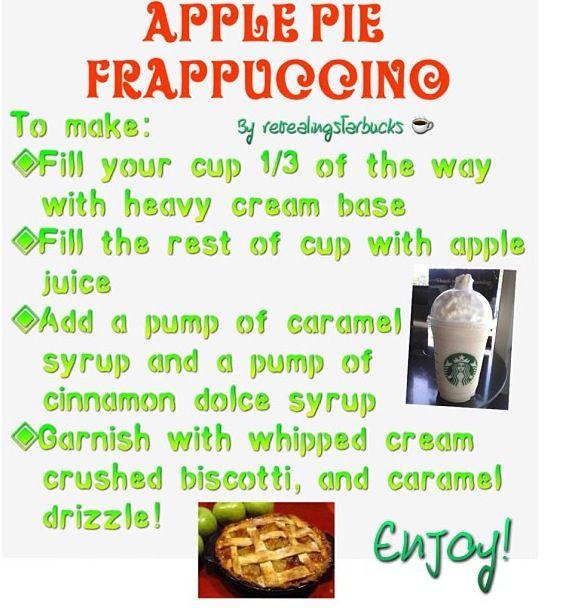 Starbucks recipe
