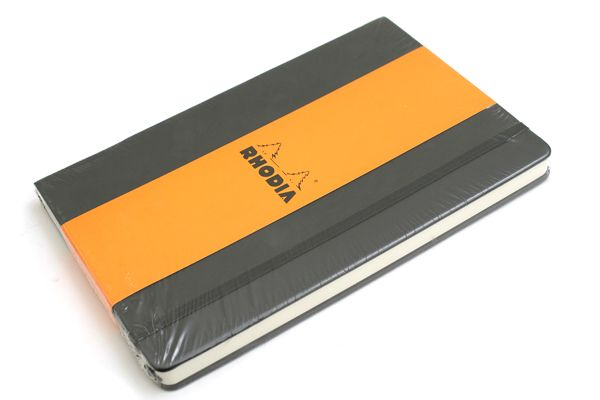 """Rhodia Webnotebook - 5.5"""" X 8.25"""" - 96 Sheets - Lined - Black   Great to journal and brainstorm in!"""