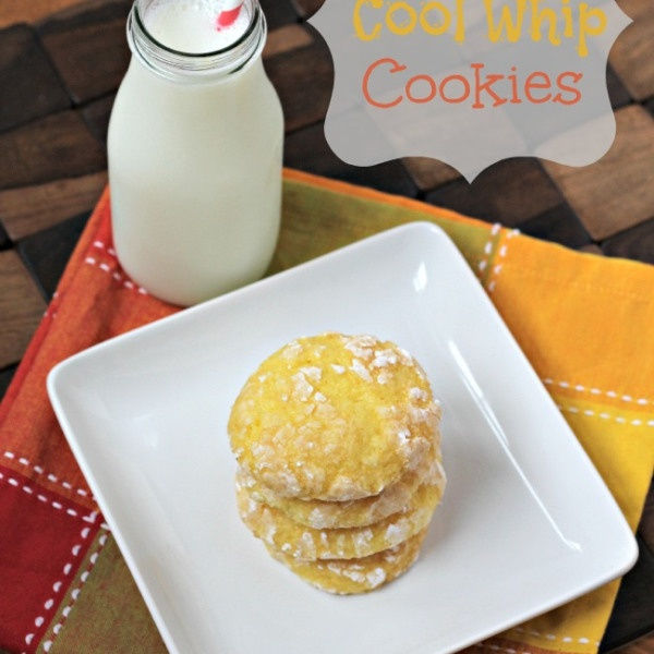 Lemon Cool Whip Cookies & Albion Fit Giveaway | Julie's Eats & Treats