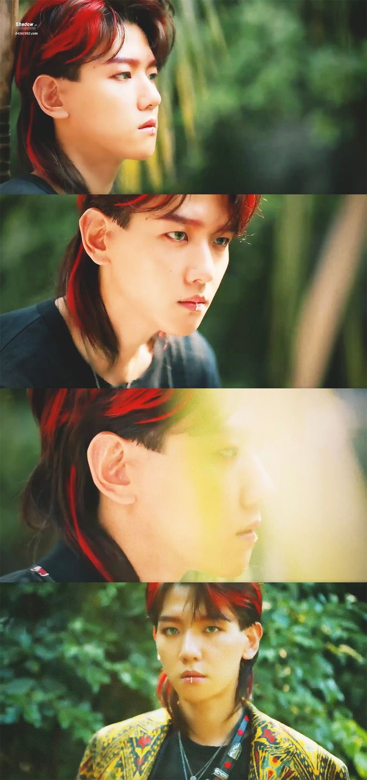 Baekhyun's mullet is life, stuff all the mullet haters, they don't know what's good
