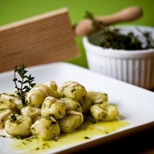 Gnocchi With Thyme Vinaigrette And Lemon Cashew Cream from Vegan Yum ...