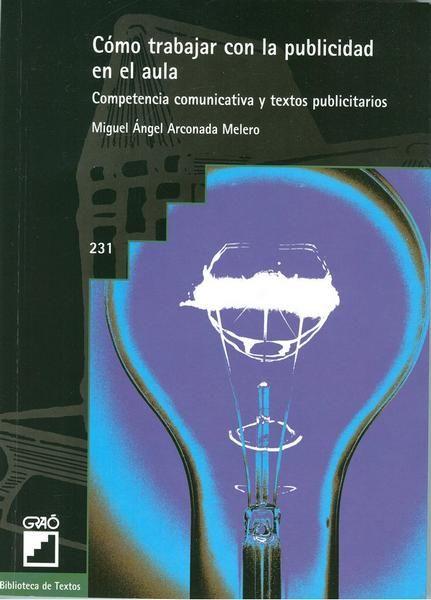 Este libro es una herramienta valiosísima para llevar los textos publicitarios de los diversos medios impresos y audiovisuales a clase de Lengua, para trabajar la competencia lingüística, las habilidades comunicativas, la comprensión crítica de los mensajes publicitarios y la educación en valores, por lo tanto también la competencia social y ciudadana. Localización en biblioteca: 371.335 A675c 2006