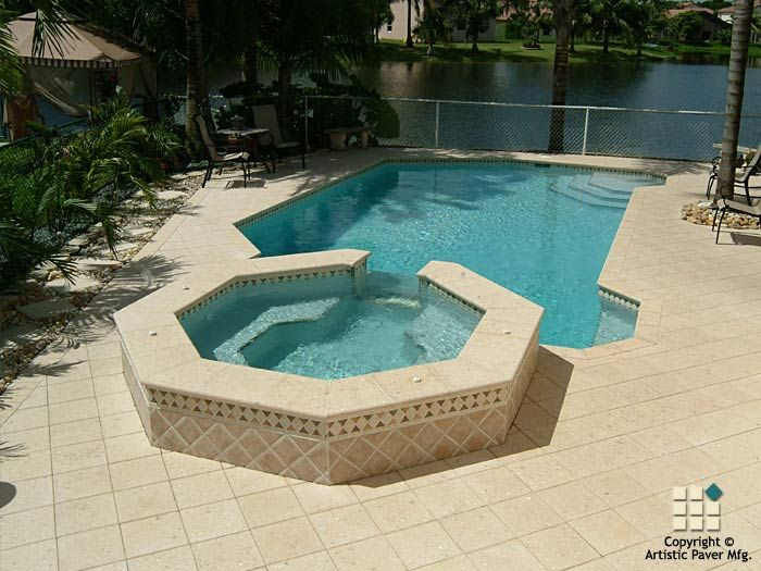 64 best images about artistic pavers pools on pinterest for Pool design pattern