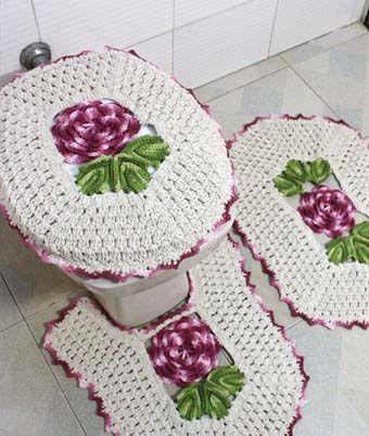 красивые коврики для ванной комнаты