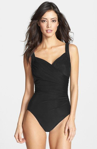 Miraclesuit® 'Sanibel' Underwire One-Piece Swimsuit available at #Nordstrom