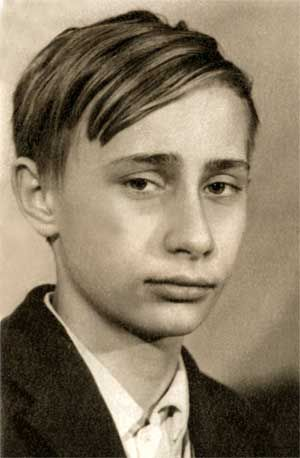 "Vladimir Putin. ""On 1 September 1960, he started at School No. 193 at Baskov Lane, just across from his house. By fifth grade he was one of a few in a class of more than 45 pupils who was not yet a member of the Pioneers, largely because of his rowdy behavior."" wikipedia"