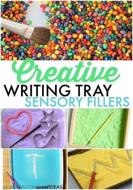 Activities to help with writing skills