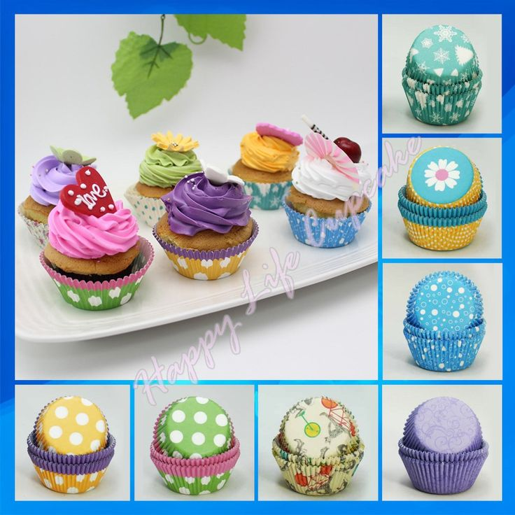 Cheap cake decorating mold, Buy Quality cup material directly from China cake decor Suppliers:  Hot selling! 400pcs 8 Patterns mixed standard size,Muffin Cupcake cups cake decoration for wedding,square cupca