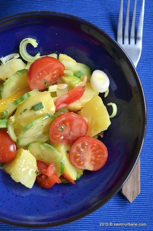 Salata de cartofi de post cu ceapa (11)