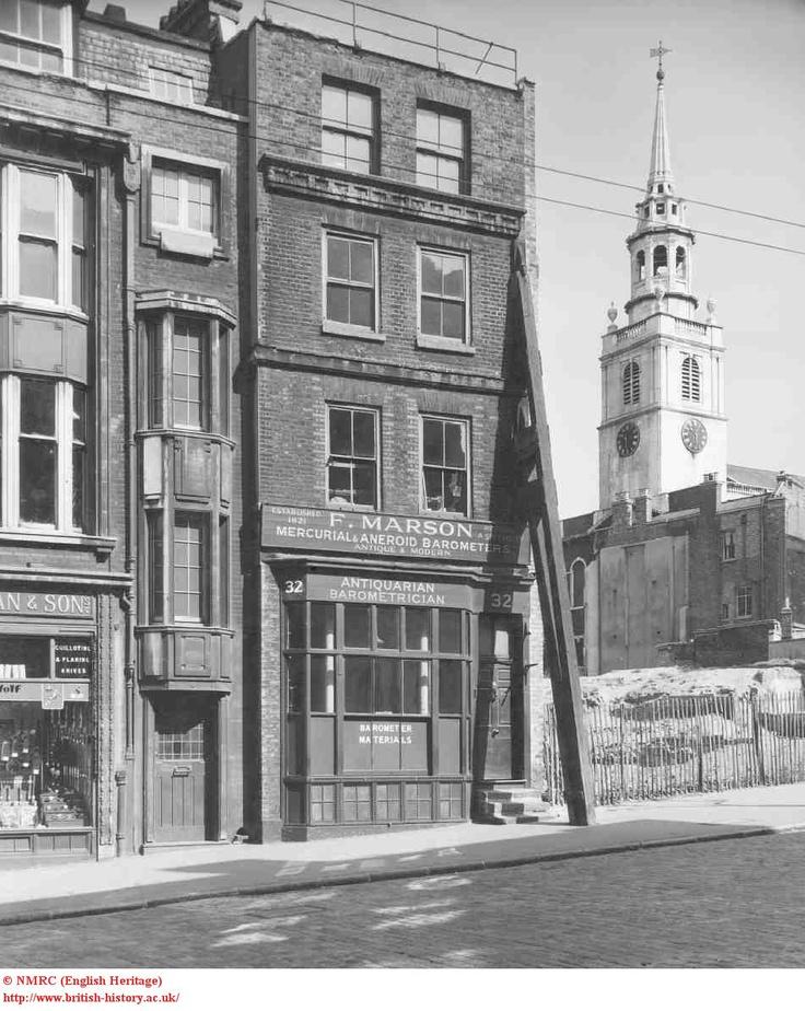 Clerkenwell Green in 1958