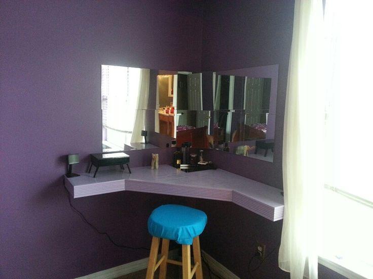 diy vanity for under 150.