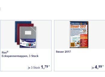 Aldi-Süd: Büro-Spezial mit Steuerspar-Software, Druckerpapier und mehr https://www.discountfan.de/artikel/c_discounter/aldi-sued-buero-spezial-mit-steuerspar-software-druckerpapier-und-mehr.php Der Discounter Aldi-Süd startet am kommenden Mittwoch ein neues Büro-Spezial. Neben einer Steuerspar-Software für unter fünf Euro gibt es Druckerpapier, Kuverts und weitere Schnäppchen. Aldi-Süd: Büro-Spezial mit Steuerspar-Software, Druckerpapier und mehr (Bild: Aldi-Sued.d