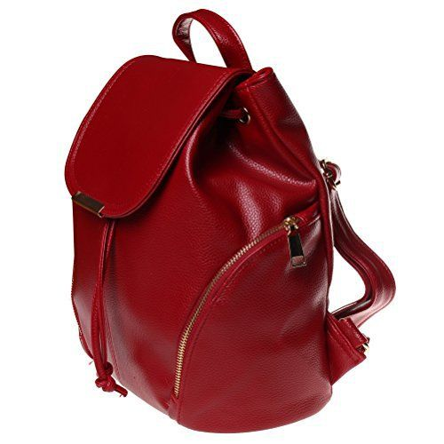 New Trending Backpacks: Fashion Road Leather Backpack, Women Casual Mini Backpack, Girls School Bag Shoulder Bag Winered. Fashion Road Leather Backpack, Women Casual Mini Backpack, Girls School Bag Shoulder Bag Winered  Special Offer: $20.88  366 Reviews Features: Material: High quality PU leather Size: 12.8*12.4*6.3 inch Color: White / Winered / Blue / Black Package: A backpack Large capacity ...