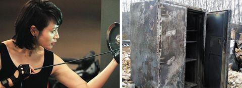 [2015 히든챔피언] 세 모녀의 금고, 火를 견디고 禍를 막는다 : 2005년 4월, 강원도 양양군에서 발생한 산불이 낙산사(洛山寺)를 덮쳤다. 보물479호인 동종(銅鐘)까지 완전히 녹아내렸지만 잿더미 속에서 발견한 커다란 금고(金庫)만은 멀쩡했다. 겉은 시커멓게 탔지만 문을 열어보니 내부의 고(古)문서와 도자기 등 귀중품은 타지 않았다. 2004년 경기도 파주의 한 대형마트에 화재가 났을 때도, 철제빔이 녹아내릴 정도로 불이 컸지만 금고 속의 현금다발 1600만원과 중요 서류는 살아남았다. 두 현장에서 발견된 금고는 모두 국내 중소기업 선일금고제작의 제품이었다.