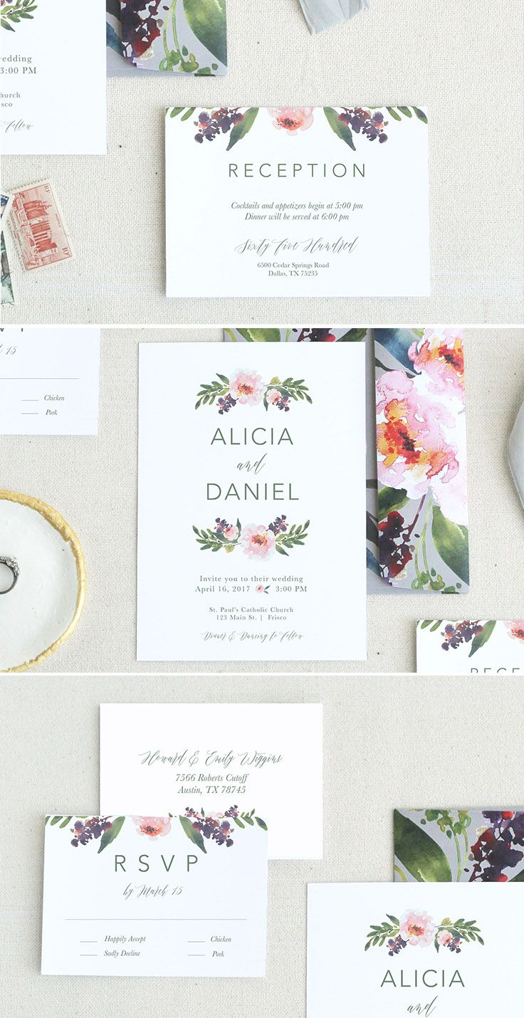 Invitation templates are one of the most cost-effective ways for you to still plan that wedding of your dreams!