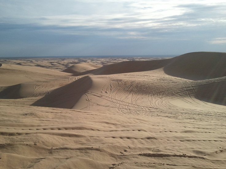 Duning In Glamis California