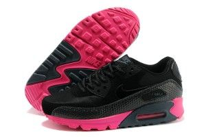 Acquistare nike air max 90 donna tutte-nere/rosse scarpe da ginnastica sconti dalla cina