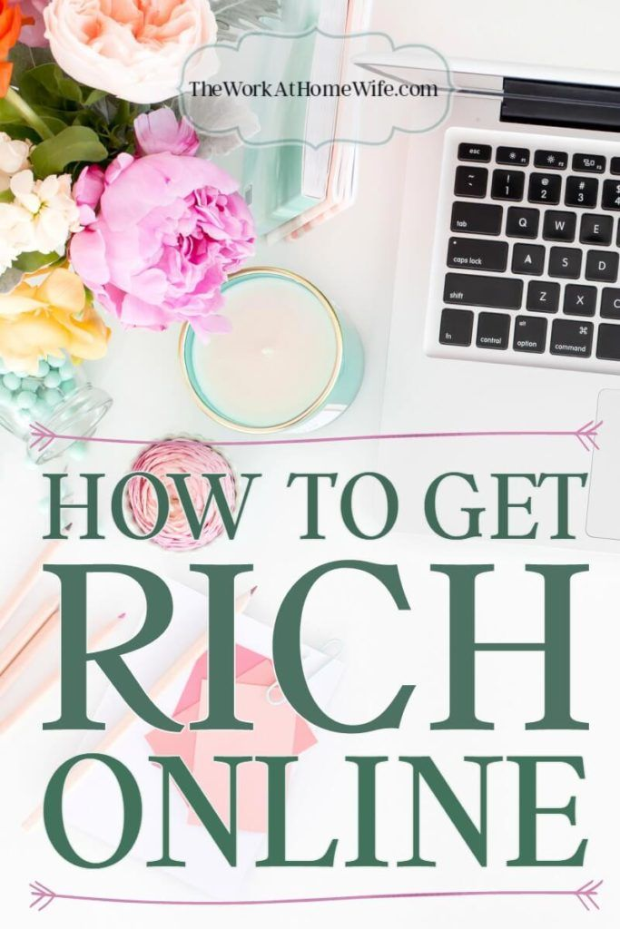 If you really want to know how to get rich online this year, you've got so many options! Which one of these will be the inspiration for your big success story?