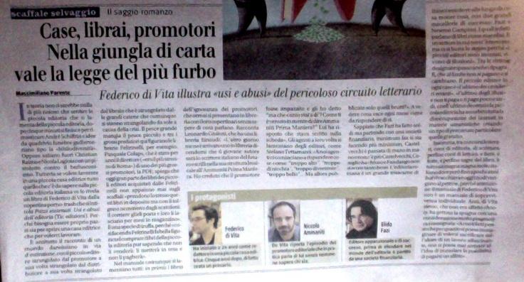 """""""Il Giornale"""" – Massimiliano Parente"""