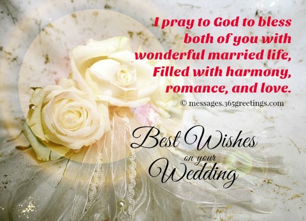Send wedding congratulations messages from our collection of wedding congratulations messages to Celebrate with the newlyweds. Here are some congratulations messages for wedding and wedding wishes that you can use as wedding messages congratulations or send as wedding congratulations SMS / wedding text messages using for your mobile phones.