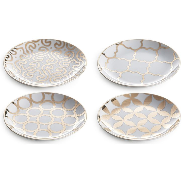 Luxe Moderne - Appetizer Plates {Set of 4}