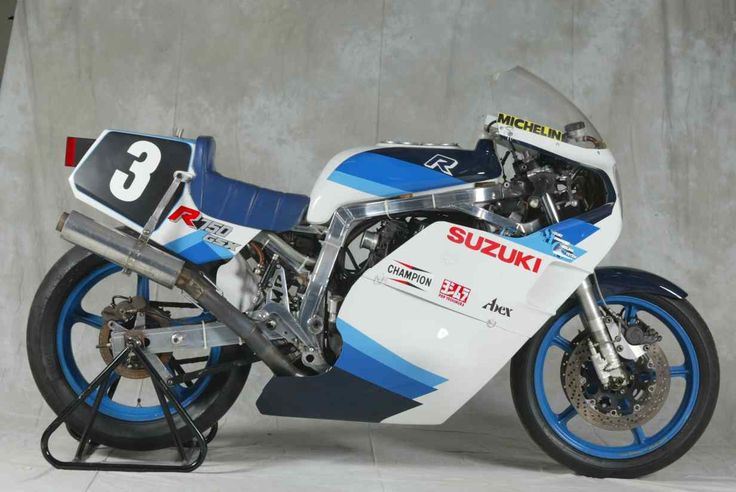 The Superbike Suzuki XR51 race bike from SERT in 1985