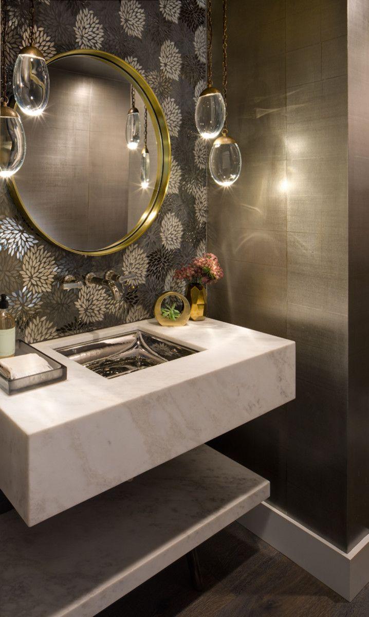 50 Favorites For Friday Luxury Powder Room Powder Room Vanity