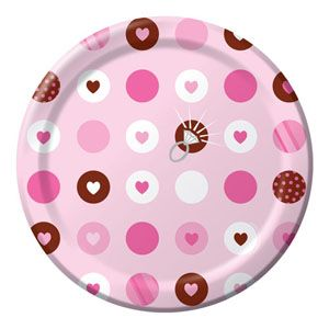 Bride To Be Dots Luncheon Plates - $4.95 See more at http://myhensparty.com.au/
