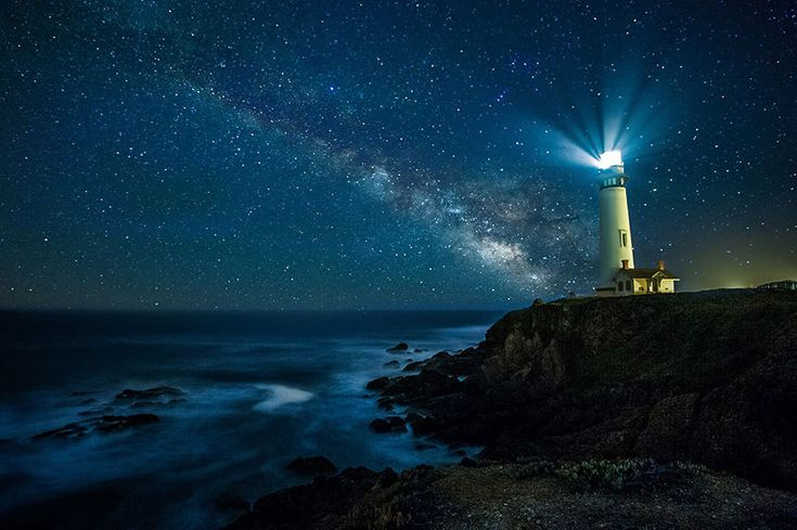 Pescadero, California | 19 Pictures That Prove The World Is Beautiful In The Dark
