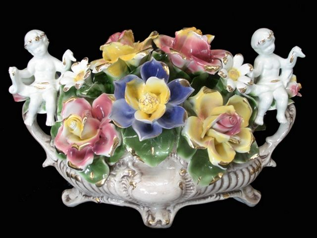 Best images about capodimonte flowers on pinterest
