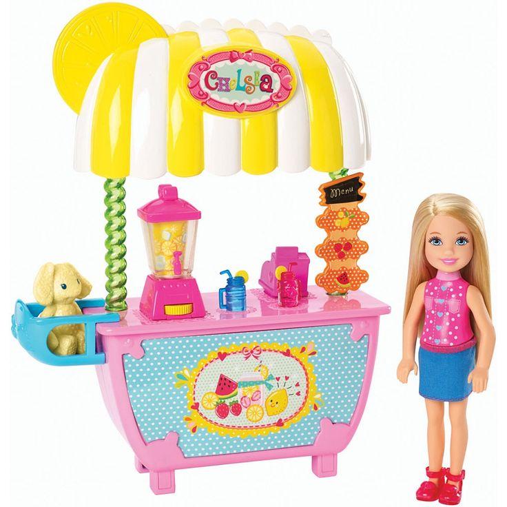 Toys R Us Lemonade Stand : Barbie chelsea s lemonade stand mattel toys quot r us