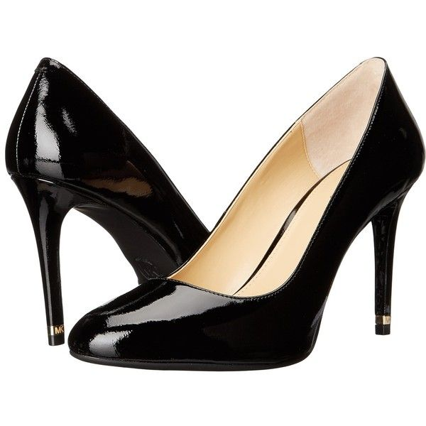 MICHAEL Michael Kors Ashby Flex Pump Black Patent Womens Shoes 110
