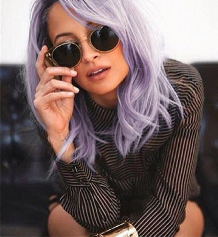 Les cheveux violets sont-ils la nouvelle tendance capillaire? - Cosmopolitan.fr