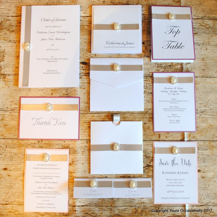 mini book wedding invitations uk%0A Pearl Passion Wedding Stationery Collection