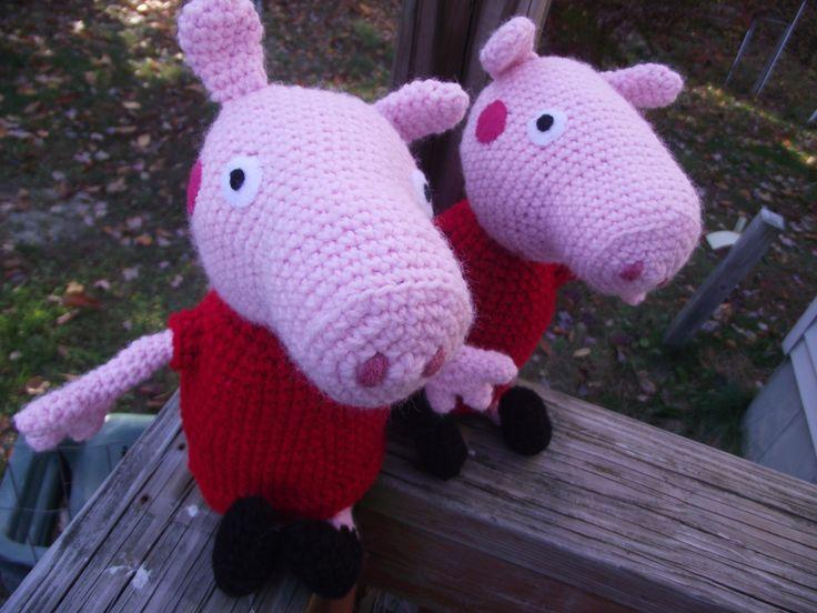 Amigurumi Tutorial Peppa Pig : Best peppa pig images pigs birthdays and