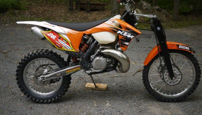 KTM 300 EXC All Wheel Drive Conversion