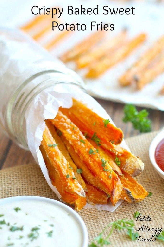 Croccante al forno dolci patate patatine- MIGLIORI forno patate dolci fritte facile con olio minima.