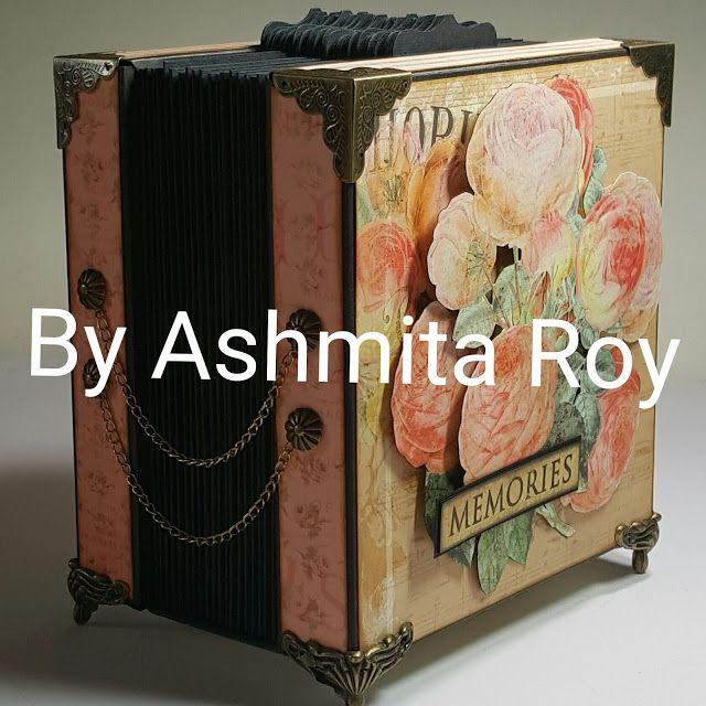 Art some craft: Shabby chic Accordion Tag Box