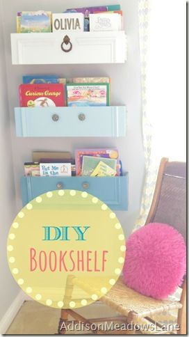 I could do something like this in the kids room....only with pallet boards. Could even put a drawer pull on the front. Or something. hmmm