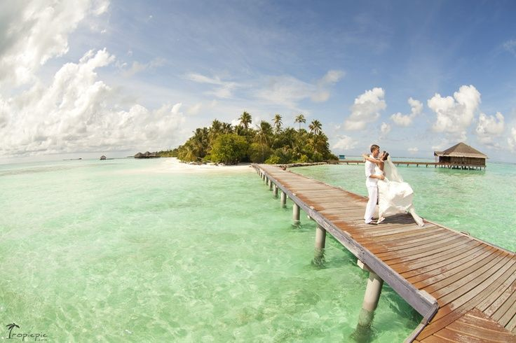 Hugs in Honeymoon Maldives...